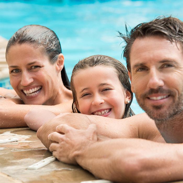 Spring & Summer Sunday Swim Lunch (family of 4)